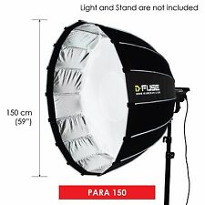"D-fuse 59"" / 150mm Para Softbox: Inner & Outer Diffusion Parabolic Umbrella"
