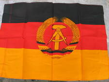 Unused vintage East German flag, post WW2 , NVA, Stasi