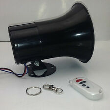 12V Motorcycle Car Boat Horn 3 Sounds Loud With Wireless Remote Control 35W