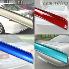 Painted Mercedes W204 C class 4D Sedan Rear Trunk Lip Spoiler 08-13 C300 C250 ○