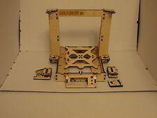 3D Printer Reprap Mendel Graber I3 Frame Laser Cut 6mm PlyWood + Screws