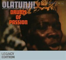 Drums of Passion; Babatunde Olatunji 2009 CD, Nigeria, Percussion, Sony Legacy E