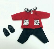 Barbie Kelly Doll Clothes Zebra Print Outfit + Shoes Cute n' Cool Mattel New
