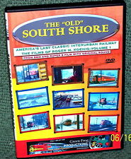 "20116 TRAIN VIDEO DVD ""THE OLD SOUTH SHORE"" VINTAGE FILM !!!"