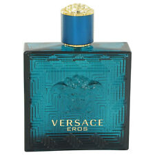 Versace Eros By Versace Tstr 3.4 oz./100ml Edt Spray For Men New&Unbox No Cap