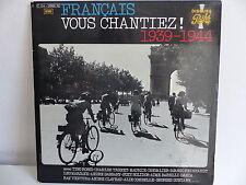 Francais vous chantiez ! 1939 1944 ROSSI / TRENET / CHEVALIER ... 2C134 12609/10