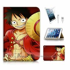 iPad Mini Gen 4 Flip Wallet Case Cover! P0162 One Piece Luffy