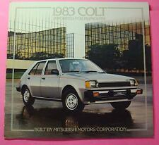 1983 PLYMOUTH COLT SHOWROOM SALE BROCHURE ..14- PAGES