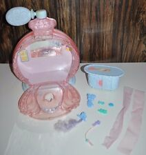 Vintage My Little Pony Poof N Puff Perfume Palace with Accessories