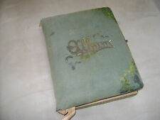 Antique Family Photo Album. Rough Condition.