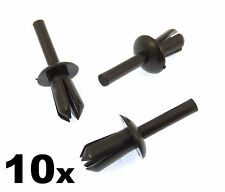 10x BMW 5mm Plastic Rivet Clips for Trims, Wheel Arch Liner / Lining & Moudlings