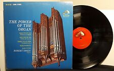 "ROBERT OWEN ""The Power Of The Organ"" vinyl LP RCA Victor Shaded Dog"