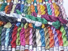 50 Bordado Hilos De Seda 50 Dif. Colores