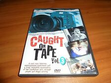Caught on Tape Volume 3 (DVD, 2002) Shockumentary Used OOP Hiidden Camera