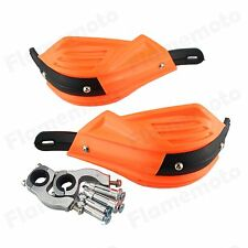 Orange Dirt Bike Motorcross Motorcycle Brush Bar Hand Guard Handguards For KTM