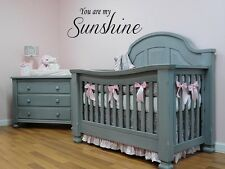 You are my SUNSHINE vinyl wall decal words nursery kids baby quote lettering 24""