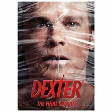 Dexter: The Final Season (DVD, 2013, 4-Disc Set). SEASON 8. NEW SEALED