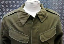 Genuine Vintage Military Combat Jacket 1980`s Distressed Look Unique Look 80`s