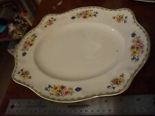 "VINTAGE Johnson Brothers ELLASTONE  serving platter "" Pareek England MINT COND"