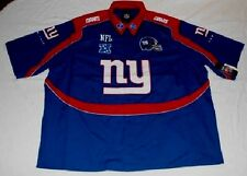 New York Giants Endzone Shirt 6XL Pit Crew Style NFL Specialty Helmet Logo