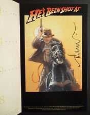 DREW STRUZAN Authentic SDCC 2007 Hand-Signed INDIANA JONES 10x16 Art Book (COA)