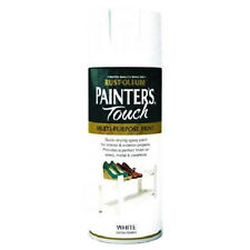 x3 Rust-Oleum Painter's Touch Multi-Purpose Aerosol Spray Paint White Satin