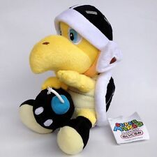 Super Mario Bros Koopa Troopa Bomb BOB-OMB Black Turtle Plush Toy Stuffed Animal