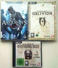The Elder Scrolls IV 4 Oblivion + ADDON Shivering Isles + Assassins Creed 1 PC