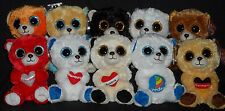 INTERNATIONAL LOT of 10 TY BEANIE BOOS - GERMANY, AUSTRIA, HOLLAND, SWITZERLAND