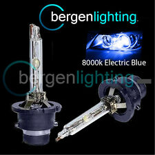 D2R ELECTRIC BLUE XENON HID LIGHT BULBS HEADLIGHT HEADLAMP 8000K 35W OEM FITTED