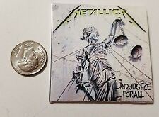 Miniature record albums Barbie Gi Joe 1/6  Playscale  Metallica  Justice for All