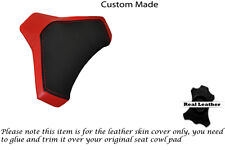 BLACK & RED CUSTOM FITS DUCATI 848 1098 1198 SEAT COWL PAD COVER
