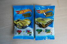 2- 2015/2016 Hot Wheels GOLD CHASE 63 Corvette Stingray+Bye Focal II MYSTERY bag