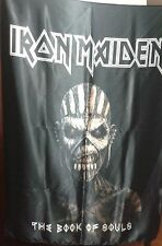 IRON MAIDEN The Book of Souls Eddie Head FLAG CLOTH POSTER TAPESTRY BANNER CD