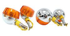 SUZUKI RV50 RV75 RV90 RV125 VAN VAN RV FRONT + REAR SIGNAL 4PCS 6V (CA)