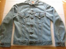 Vintage LEVIS BIG E Jean Jacket Denim Adult Small? Made in USA