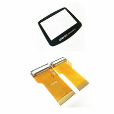 Nintendo Game Boy Advance Cable Backlight Backlit Adapter AGS101 + Screen Lens