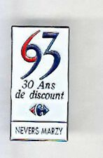 RARE PINS PIN'S .. HYPERMARCHE  CARREFOUR NEVERS MARZY 58 ~AM