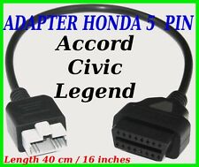 Honda 5 PIN adapter lead OBD diagnostic cable