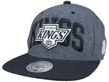 Casquette MITCHELL And NESS - SNAPBACK - Los Angeles KINGS - NHL - All White