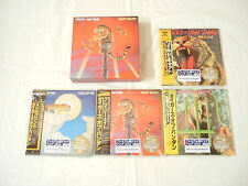 Tygers of Pan Tang JAPAN 4 titles Mini LP SHM-CD SS + PROMO BOX SET