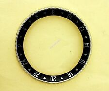 NEW SEIKO BEZEL W/ 24H GMT INSERT 6309, 6306, 7002, 7548 WATCH NR#098