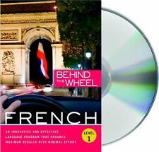 French 1 by Behind the Wheel Staff (2008, CD, Unabridged)