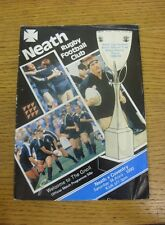 14/04/1990 Rugby Union Programme: Neath v Coventry (some folding).  We are pleas