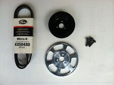 MPX Underdrive Pulley Kit for the 2012+ Fiat 500 Abarth, 500T & 500L 1.4 Turbo
