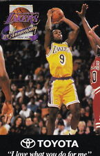 1994-95 LOS ANGELES LAKERS BASKETBALL POCKET SCHEDULE