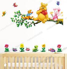 Grande Winnie the Pooh Su Albero Adesivi Da Parete stanza bebè/Cameretta Bimbi