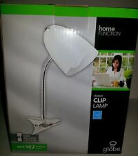 NEW GLOBE HOME FUNCTION CLIP LAMP ENERGY SAVER BULB Free S/H w/ Buy Now option