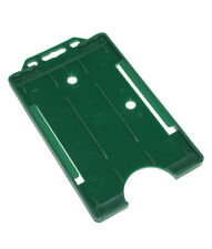 Green Vertical ID Card Badge Holder Holds All ID Cards- Buy 2 get 3!