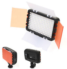Pro 160-LED Video Light Lamp w/ Standard hot shoe for Canon Nikon Camera DSLR DV
